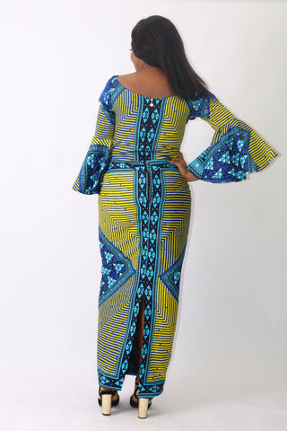 UJU maxi dress - 1085 - tmpfashion