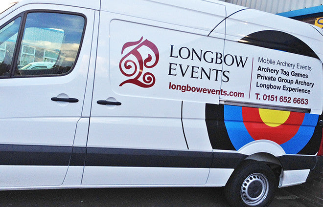 New Longbow Events van arrives