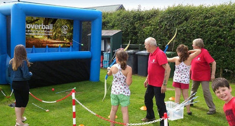 Hoverball range hire - Longbow Events