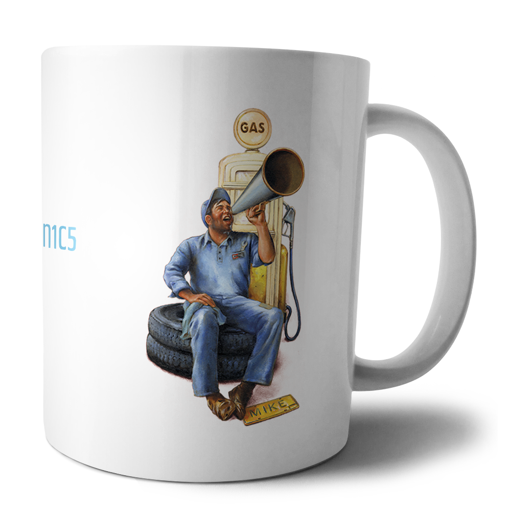 'New Mechanics' Mug