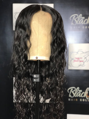 Custom Made Brazilian Body Wave Wig w/ lace Closure