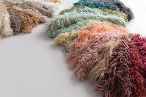 gorgeous collection of newborn faux fur fabric photography props. Use for newborn pictures or for craft purposes. Exclusively by Custom Photo Props