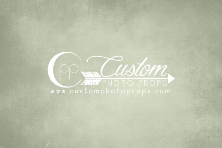 greenish gray photography floor or backdrop by custom photo props