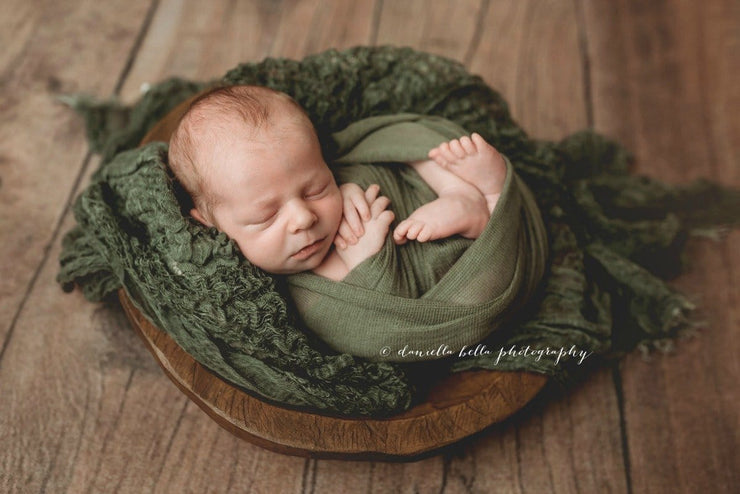 Textural Newborn Photography Prop Layering Fabric | Lattice