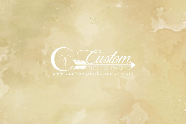yellow watercolor photography backdrop for maternity, baby, family by Custom Photo Props