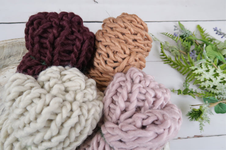 Limited Colors - Chunky Knit Blanket
