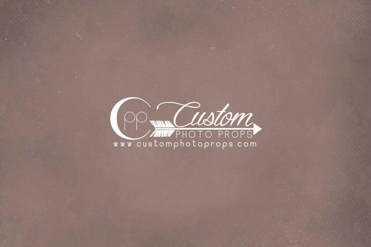 Brownish Orange Photo Backdrop | Clay Pot