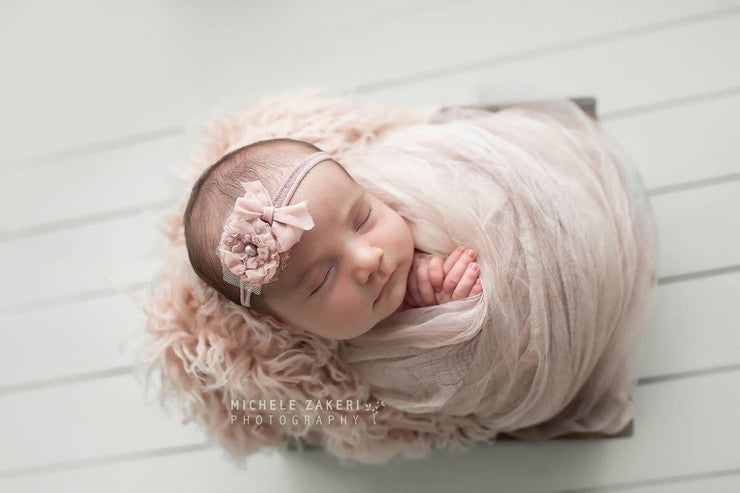 Silky Flutter Drape Baby Photo Prop Layer