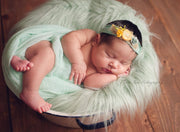 Newborn photography props Baby Sheepskin Faux Fur Photo Prop