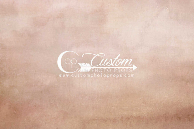 warm peach watercolor portrait paper photo backdrop by CPP