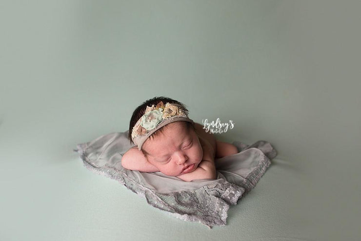 newborn photography photo props lace Demure Vintage Lace Silk Artisan Newborn Photography Layer