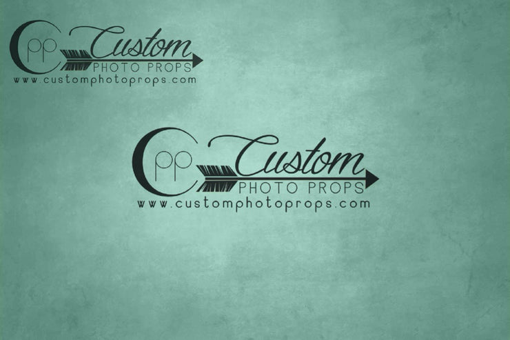dark mint green photography backdrop in vinyl, rubber mat floor or paper for photographers
