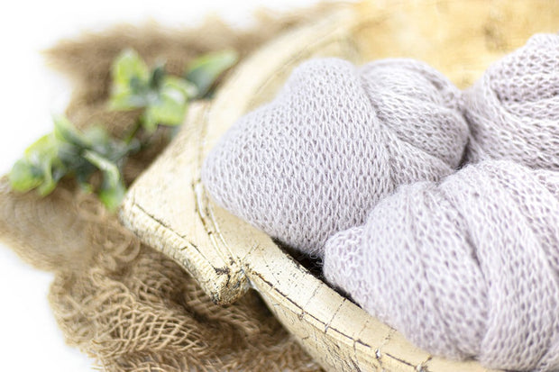 Pastel Cruelty-Free Mohair Baby Swaddling Wraps