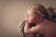 Dried Foliage Newborn Headband Prop | Oatley