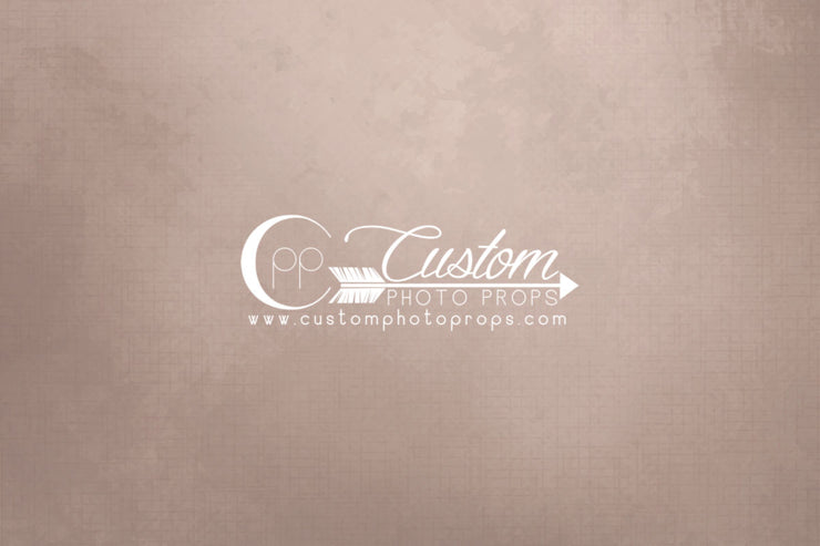 newborn boy or girl solid dusty peach photography prop backdrop or flooring. mat or paper
