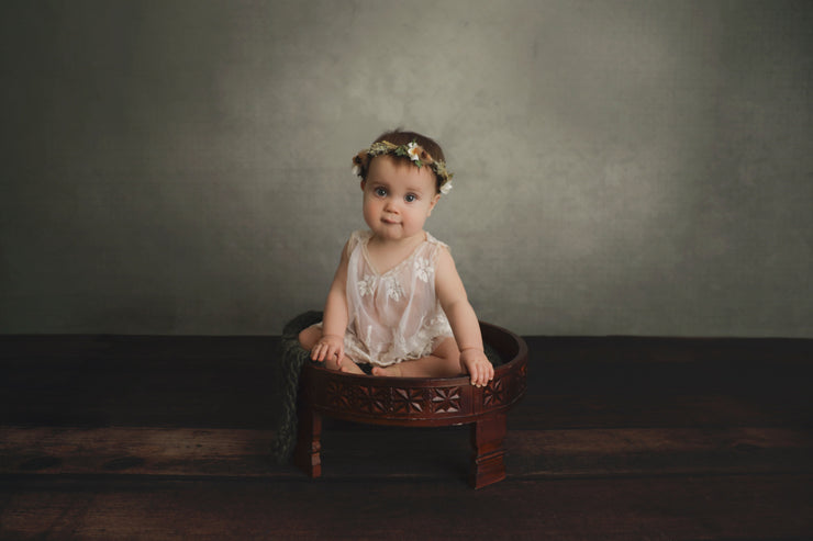faux hardwood mat flooring by custom photo props with little girl photos