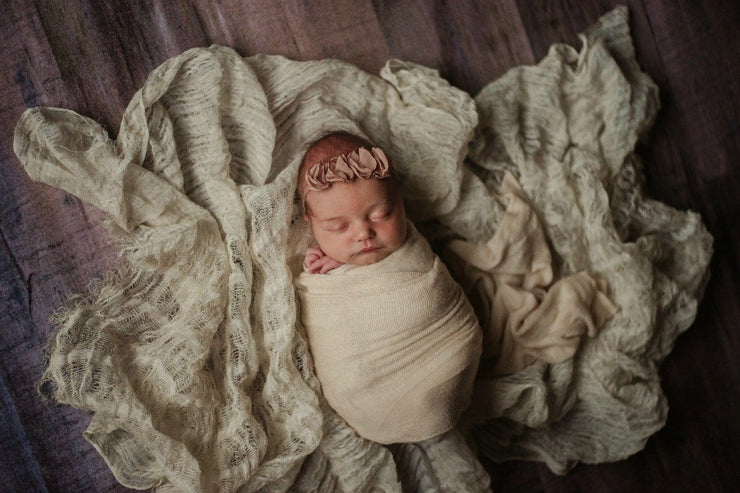 Lux(ury) Baby Swaddle Wraps - 29 Color Options