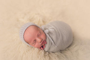 Neutral Dream Newborn Baby Wrap Photography Props