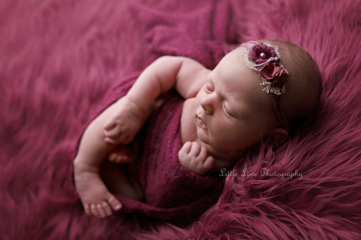 red photo shoot newborn photo by custom photo props. Ships from Buffalo  New York