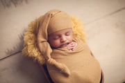 newborn baby boy photography props hat and wrap