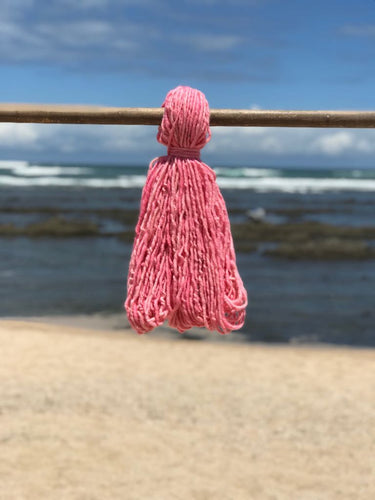 Hand Spun High Atlas Wool, 2-ply, Pink 114