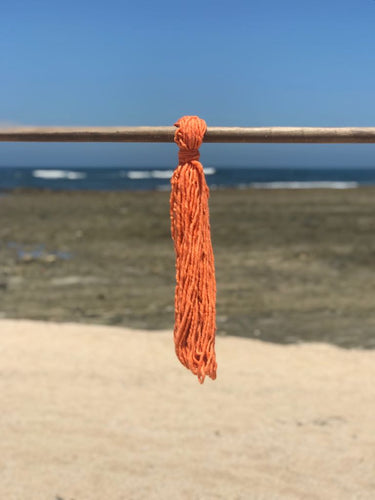 Hand Spun High Atlas Wool, 2-ply, Orange 1220