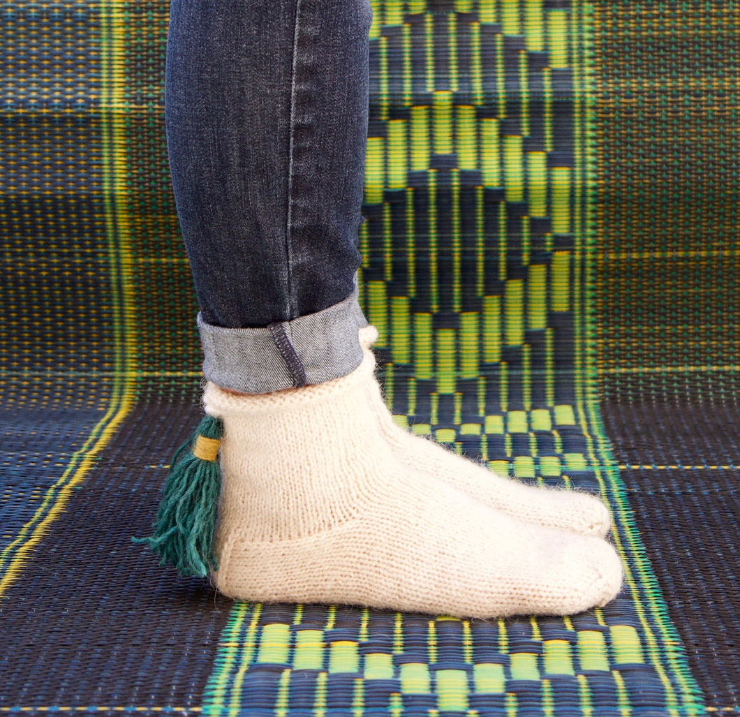 Hussein's High Atlas Mountain Booties - A Knitting Pattern