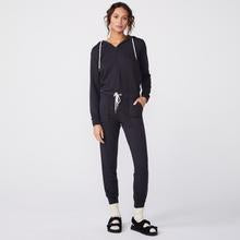 Monrow Hooded Jumpsuit