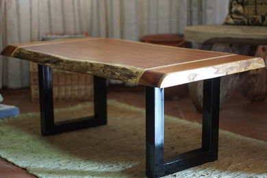 Slab Coffe Table - Jefh Woodshop