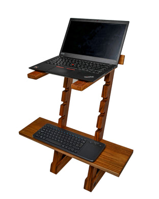 Laptop Standing Desk - Jefh Woodshop