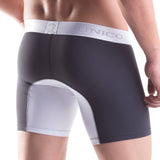 Unico Boxer Long Leg Bi-Colour Microfibre Men's Underwear