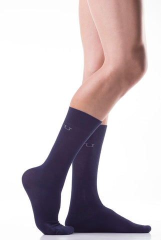 Unico Executive Socks Blue Profundo