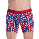 Unico Boxer Long Leg RUBIK Cotton Men's Underwear