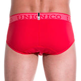 Unico Brief Color RED Cotton Men's Underwear