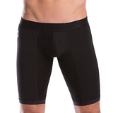 Unico Boxer Xtra Long Leg Athletic PERFORMANCE Black Recycled Polyester