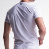 Unico Crew Neck Short Sleeve T-Shirt White