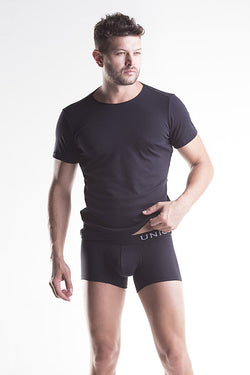 Unico Crew Neck Short Sleeve CAMISETA BLACK