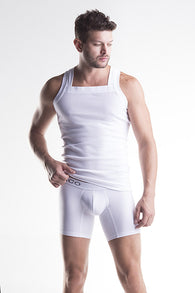 Unico CASCADA VEST WHITE Cotton