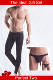Unico Gift Set.  Classic Long John INTENSO and Classic  Jock Strap Cotton