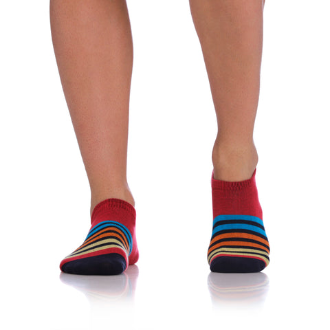 Unico INVISIBLE SOCKS STREAK Cotton