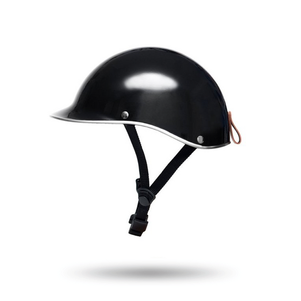 Dashel Black Helmet Gloss Finish