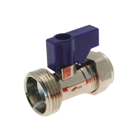 15mm Washing Machine Valve Straight