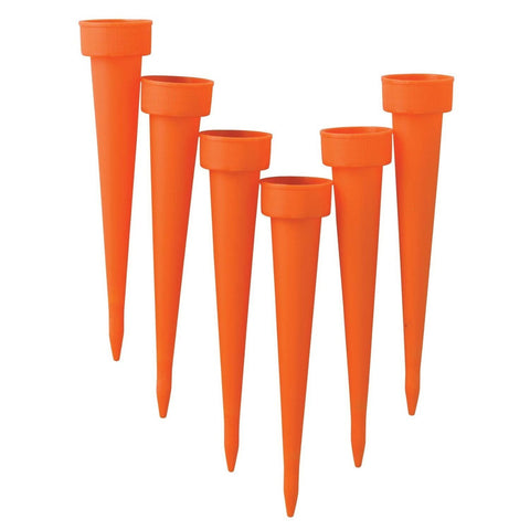 "6"" Plant Watering Spikes (Pack of 6)"