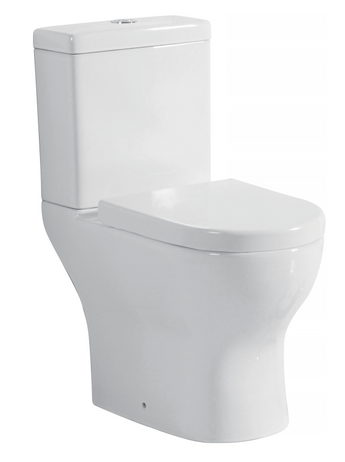 Round Close Coupled Toilet