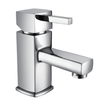 Chrome Mono Basin Mixer Tap Including Sprung Waste