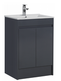 Dark Grey 600mm Vanity Unit with Basin