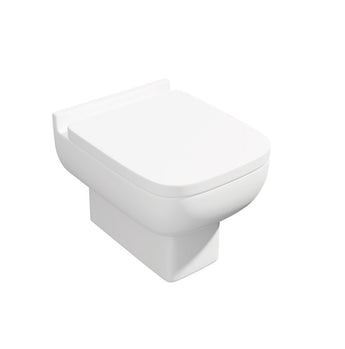 Options 600 Back to Wall WC Toilet Pan with Soft Close Seat
