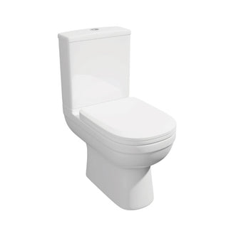 Lifestyle Close Coupled WC Toilet with Soft Close Seat