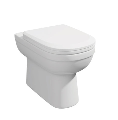 Lifestyle Back to Wall WC Toilet Pan with Soft Close Seat