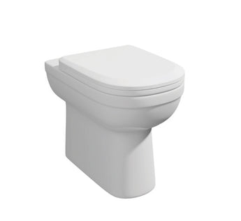 Comfort Height Back to Wall WC Toilet with Soft Close Seat